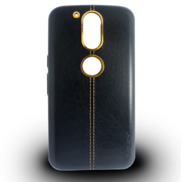 کیس چرمی Moto G4 Plus