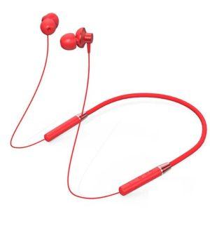 هدفون بی سیم لنوو مدل HE05 رنگ قرمز