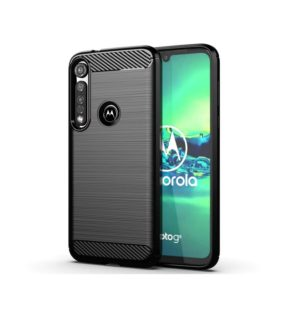 کیس TPU طرح کربن motorola one vision plus